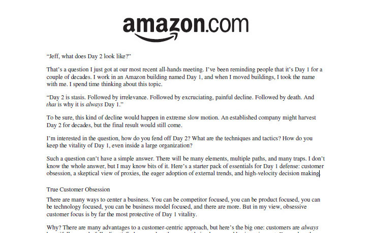 Why I Agree With Amazon's View of Process Improvement